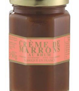 Crème de marron au rhum
